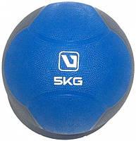 Медбол твердый (медицинский мяч) LiveUp MEDICINE BALL, 5 кг