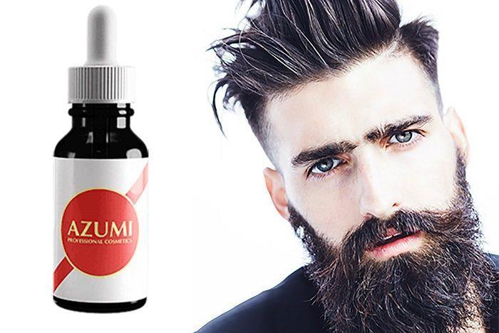 Azumi средство для роста брутальной бороды и щетины