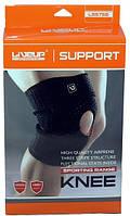 Наколенник-бандаж спортивный защитный от ударов, ушибов и травм LiveUp KNEE SUPPORT