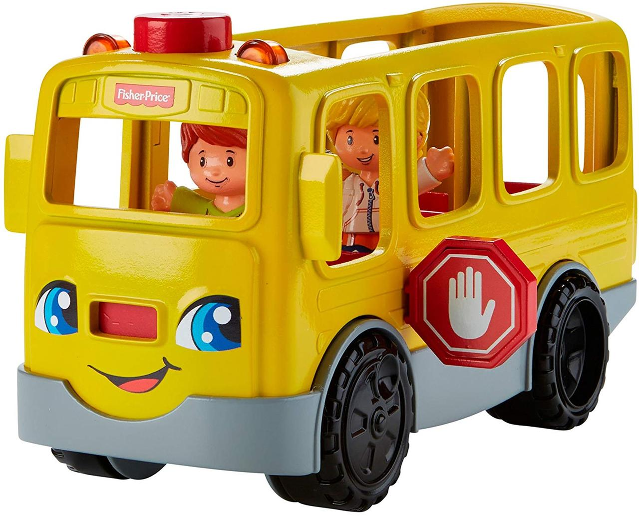 Школьный автобус Fisher Price Little People Sit with Me School Bus Vehicle