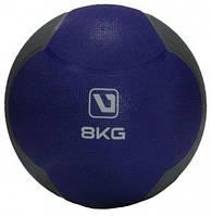 Медбол твердый (медицинский мяч) LiveUp MEDICINE BALL, 8 кг