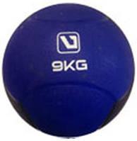 Медбол твердый (медицинский мяч твердый) LiveUp MEDICINE BALL, 9 кг