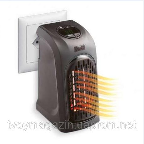 Портативный обогреватель 400W Rovus Handy Heater Портативний обігрівач