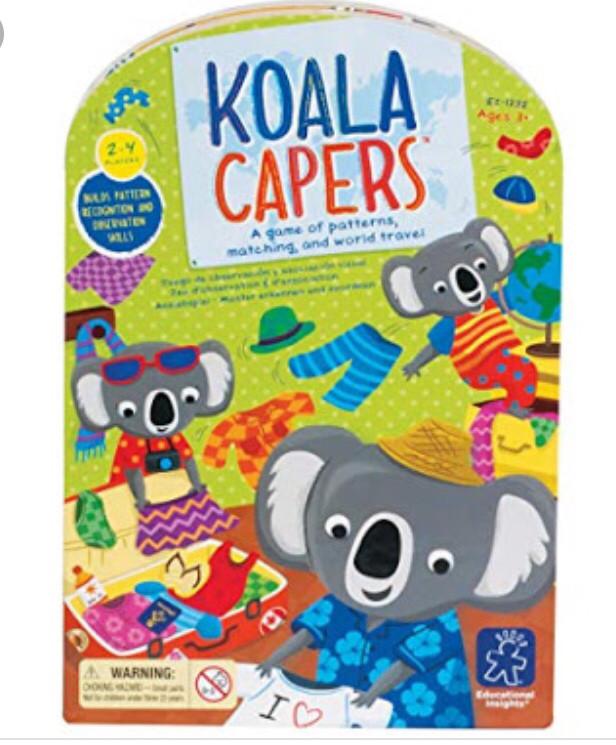 Игра одень коалу, Coala capers, Educational insights
