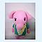 Игрушка вязаная, символ 2019 Свинка, фото 2