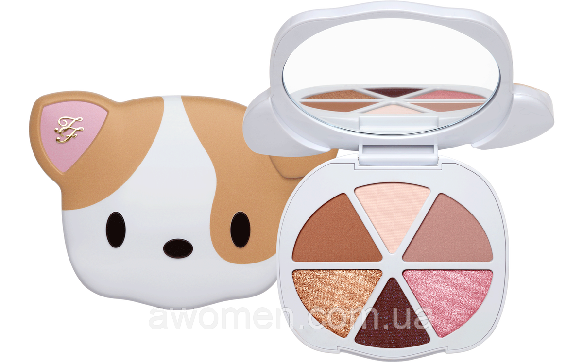 Тени Too faced Pretty Puppy Eyeshadow Palette