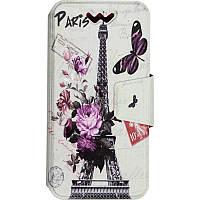 Чехол-книжка TOTO Book Universal cover Picture 4.0'-4.5' Paris, фото 1