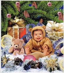 Пакет бамбук 40x45 медвежонок 25шт