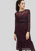Женское гипюровое платье-годе (Helena crd)