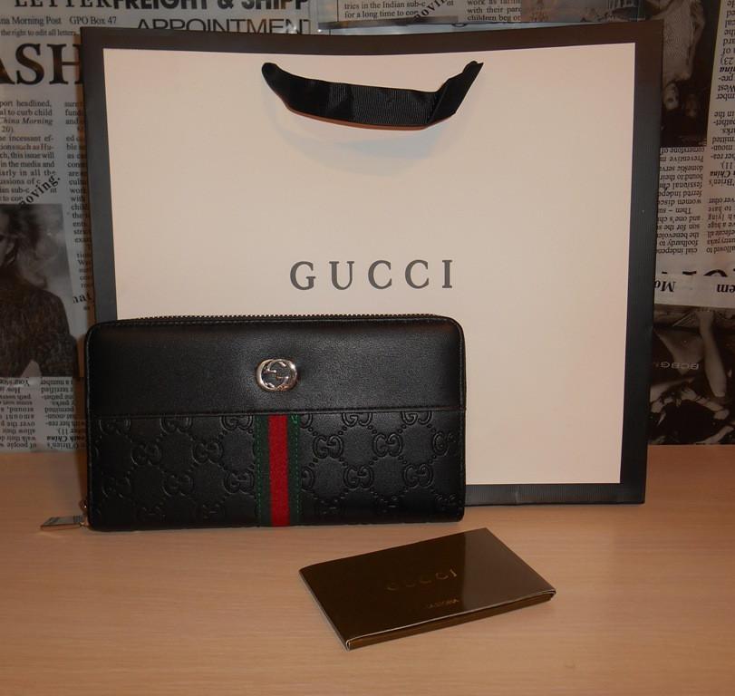 b71ede9a9417 Кошелек клатч барсетка мужской Gucci, кожа, Италия - DONINI boutique в  Запорожье