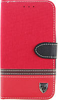 Чехол-книжка TOTO Book Universal cover Picture transformer with window 4.5'-5.0' Red, фото 1
