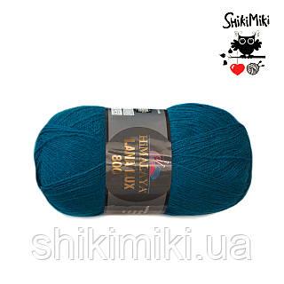 Пряжа Himalaya Lana Lux 800, цвет  Морская волна