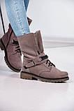 Стильные зимние высокие ботинки с цепью, фото 9