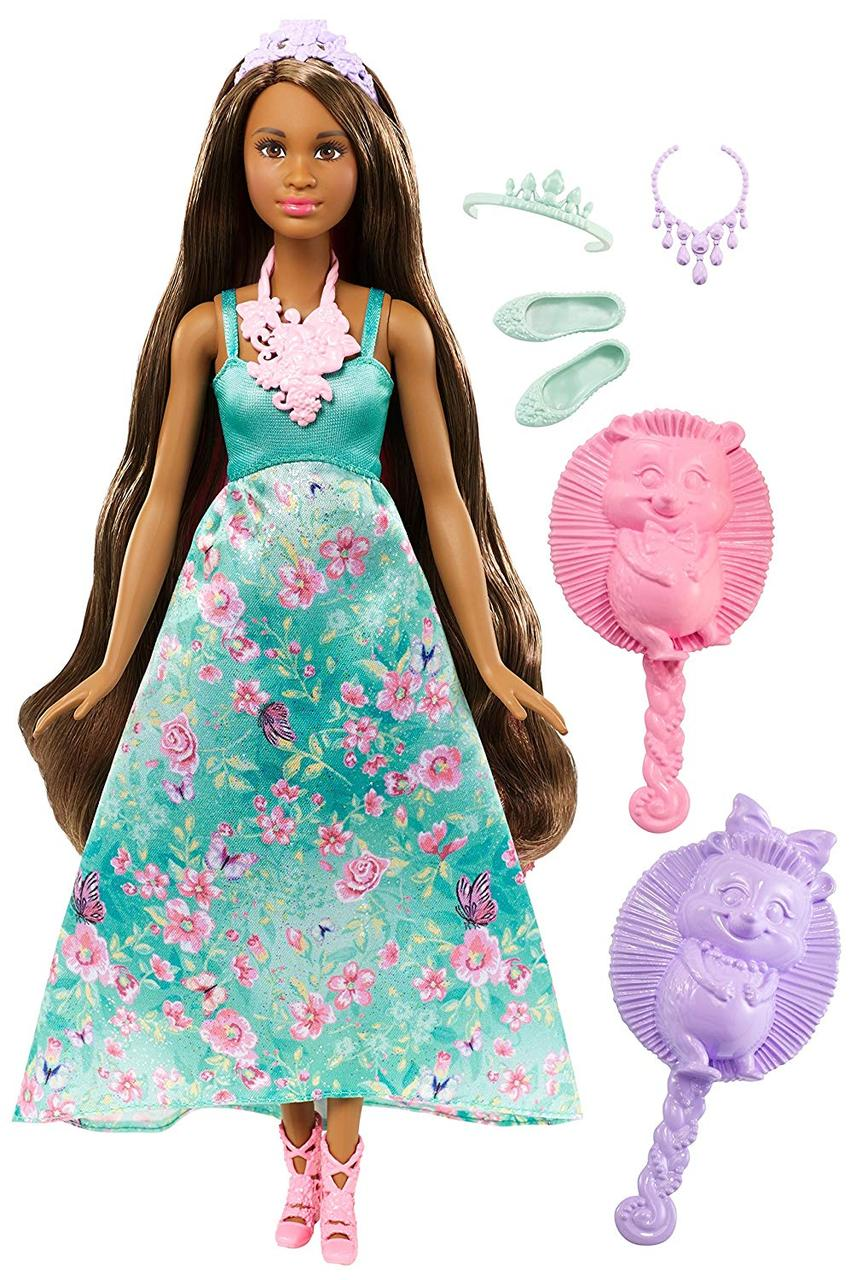 "КуклаBarbie Принцесса ""Волшебные волосы""Dreamtopia Color Stylin' Princess"
