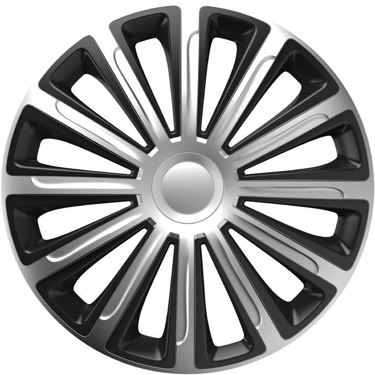 Колпаки Versaco Trend silver&Black R15