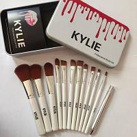 Кисти для макияжа KYLIE - набор из 12 штук