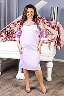 Нарядное платье, артикул 132, цвет сирень