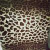 Мех норка леопард для меховых жилеток шубы сублимация 8013 ширина 155 см