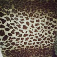Мех норка леопард для меховых жилеток шубы сублимация 8013 ширина 155 см, фото 1