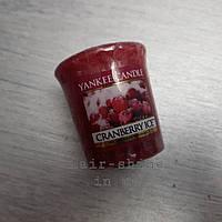 Ароматическая свеча Yankee Candle Large Jar Cranberry Ice Candle объем 49g
