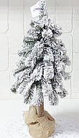 Ель в снегу 60 см в мешку, фото 1