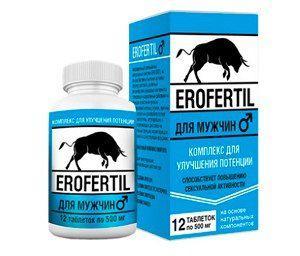 Erofertil (Эрофертил) оптимальный комплекс для мужчин