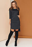 """Платье """"А-98"""" (черный)(размеры 44-54), фото 1"""