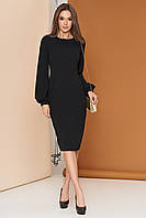 """Платье """"L-112"""" (черный)(размеры 44-54), фото 1"""