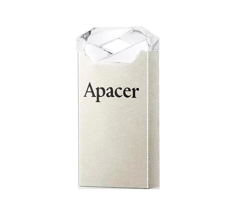 Флешка 32Gb Apacer AH111 Crystal, AP32GAH111CR-1, флеш накопитель