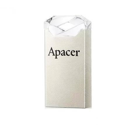 Флешка 32Gb Apacer AH111 Crystal, AP32GAH111CR-1, флеш накопитель, фото 2