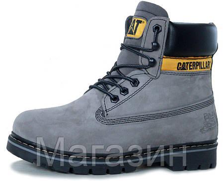 Женские зимние ботинки Caterpillar Colorado Winter Boots Grey Катерпиллер Колорадо С МЕХОМ серые, фото 2
