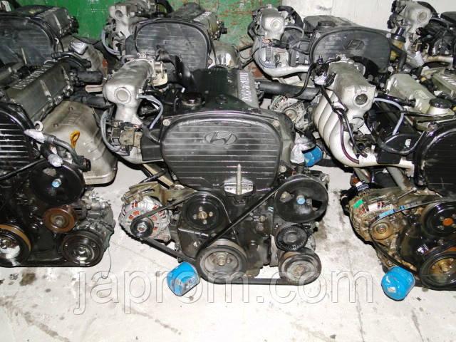 Мотор двигатель HYUNDAI 2.0-2.4 G4JP-G4JS SORENTO SANTA FE