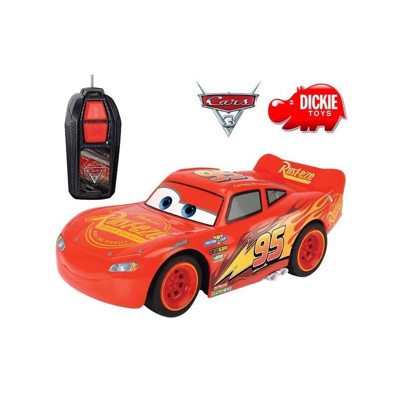 Машинка на р/у Молния Маккуин McQueen Dickie 3081000