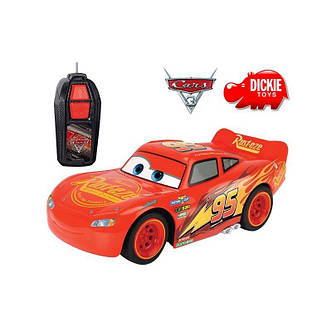 Машинка на р/у Молния Маккуин McQueen Dickie 3081000, фото 2