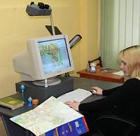 Векторизация  (оцифровка) планов и карт