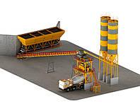 Стационарный бетонный завод GNR-SBS 60 General Makina