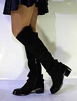 Сапоги женские  зимние Valensia ( европейка ,экозамша высокого качества)