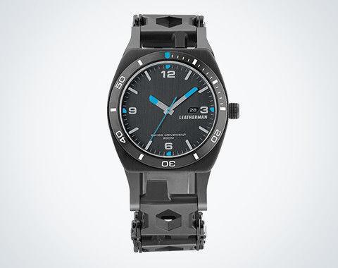 Leatherman Tread Tempo часы-мультитул и фонарь в подарок