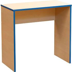 Стол письменный Новый Стиль Береза Снежная СП-101 blue CH 750x400x720 мм