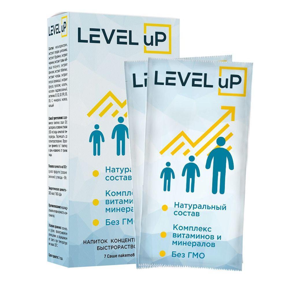 Level uP (Левел аП) - мощный концентрат для увеличения роста человека