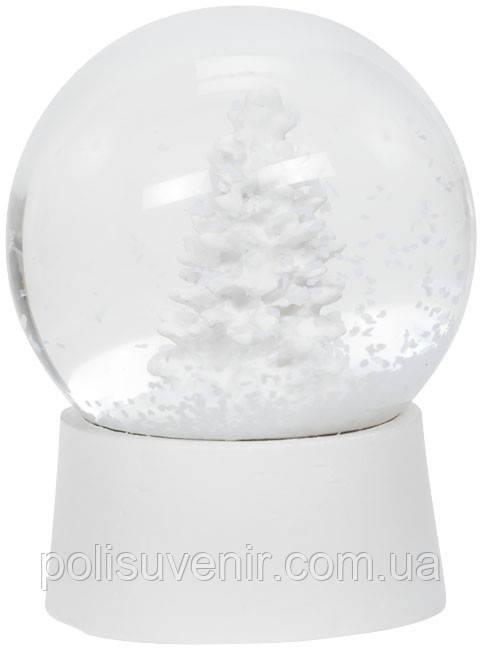 Снежный шар с елкой