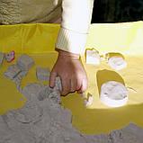 Moving Sand набор кинетического песка разного цвета с формами в комплекте для лепки, фото 3