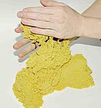 Moving Sand набор кинетического песка разного цвета с формами в комплекте для лепки, фото 7
