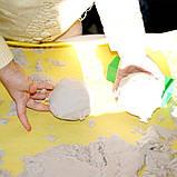 Moving Sand набор кинетического песка разного цвета с формами в комплекте для лепки, фото 8