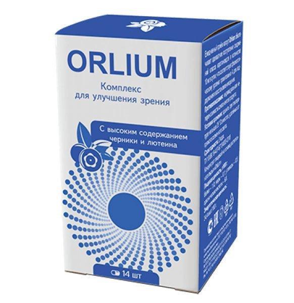 Orlium — таблетки для укрепления зрения