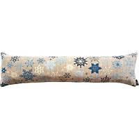 """Подушка """"синие снежинки"""", фото 1"""