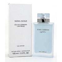 Dolce&Gabbana Light Blue Eau Intense EDT 100ml TESTER (туалетная вода Дольче Габбана Лайт Блю О Интенс тестер)