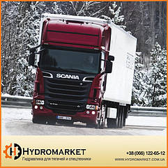 Установка гидравлики на Scania