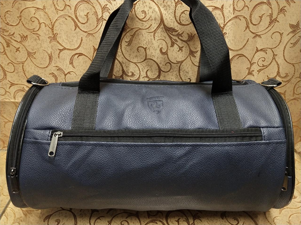 Спортивная сумка стильная логотип Ferrari искусств кожа-Отличное качество Женщины и мужчины сумка оп