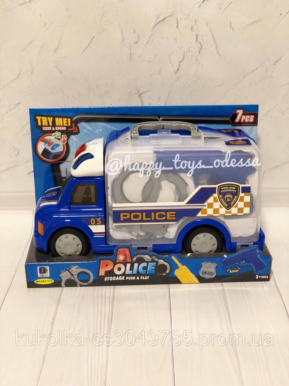 Музыкальная полицейская машина